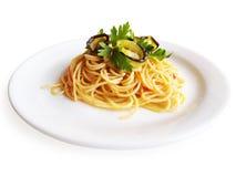 Espaguete Alla Norma Imagens de Stock Royalty Free