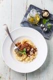 Espaguete bolonhês Imagens de Stock
