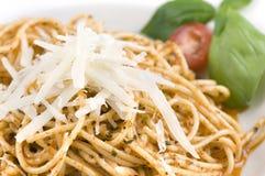 Espaguete com queijo Imagens de Stock