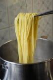 Espaguete cozinhado Foto de Stock Royalty Free