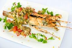 Espaguete da lagosta Imagens de Stock