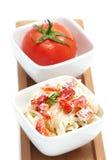 Espaguete da massa Fotografia de Stock Royalty Free