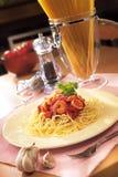 Espaguete do marisco Fotos de Stock