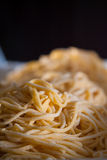 Espaguete Hand-made fotografia de stock