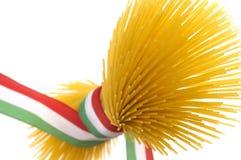 Espaguete italiano Fotografia de Stock