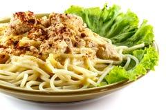Espaguetes Foto de Stock