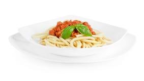 Espaguetes Bolonhês Imagens de Stock Royalty Free
