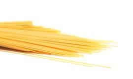 Espaguetes crus fotos de stock royalty free