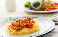 Espaguetes da massa Imagem de Stock