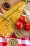 Espaguetes da massa Imagens de Stock Royalty Free