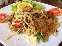 Espaguetes tailandeses Foto de Stock Royalty Free