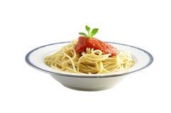 Espagueti Imagen de archivo