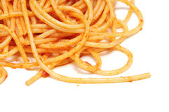 Espagueti Imágenes de archivo libres de regalías