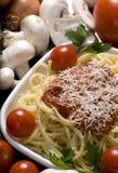 Espagueti 3 Imagen de archivo libre de regalías