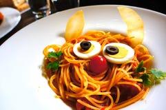 Espagueti boloñés Imagenes de archivo
