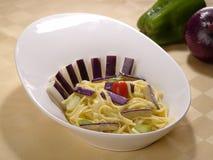 Espagueti cocinado Imagenes de archivo