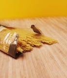Espagueti del plástico Fotografía de archivo libre de regalías