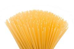 Espagueti en el primero plano Fotografía de archivo libre de regalías