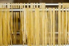 Espagueti hecho en casa Foto de archivo libre de regalías