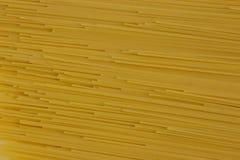 Espagueti italiano de las pastas Imagen de archivo