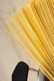 Espagueti listo para guisar Foto de archivo libre de regalías