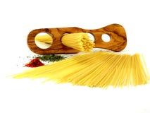 Espagueti, pastas Fotografía de archivo libre de regalías