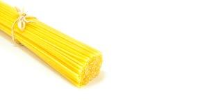 Espagueti sin procesar Imágenes de archivo libres de regalías