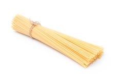 Espagueti sin procesar Fotografía de archivo libre de regalías