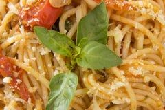 Espaguetis Imágenes de archivo libres de regalías