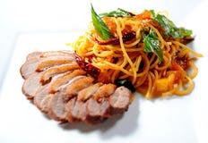 Espaguetis Fotografía de archivo libre de regalías