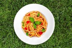 Espaguetis Fotos de archivo