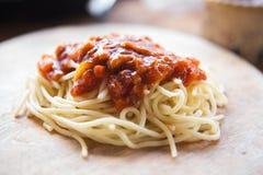 Espaguetis Fotografía de archivo