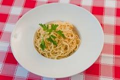 Espaguetis Imagen de archivo libre de regalías