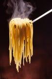 Espaguetis calientes Fotos de archivo libres de regalías