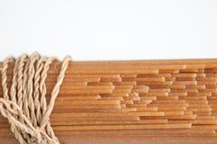 Espaguetis de Brown Fotografía de archivo libre de regalías