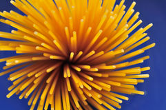 Espaguetis de las pastas Imagen de archivo