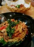 Espaguetis Tailandia Imagenes de archivo