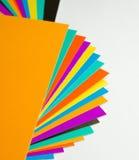 Cartão da cor Foto de Stock