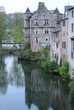 Espalion, Aveyron ( France ) Royalty Free Stock Image