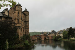 Espalion, Aveyron ( France ) Stock Photography