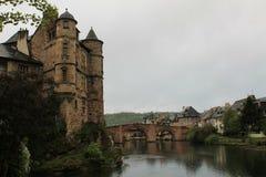 Espalion, l'Aveyron (Frances) Photographie stock