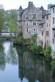 Espalion, l'Aveyron (Frances) Image libre de droits