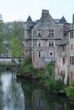 Espalion, l'Aveyron (Frances) Photo stock