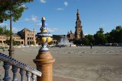 Espana plaza de obrazy royalty free