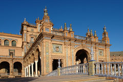 Espana plaza de obraz royalty free