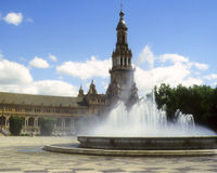 Espana plaza de Obraz Stock