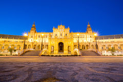 Espana Plaza in Sevilla Spain Stock Photo