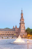 espana Plaza Seville Spain Royalty Free Stock Photo