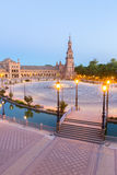 espana Plaza Seville Spain Royalty Free Stock Images