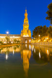 espana Plaza in Seville Royalty Free Stock Image